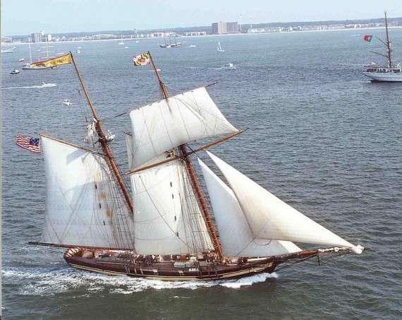 Ο αγαπημένος τύπος πλοίου των πειρατών, η σκούνα.