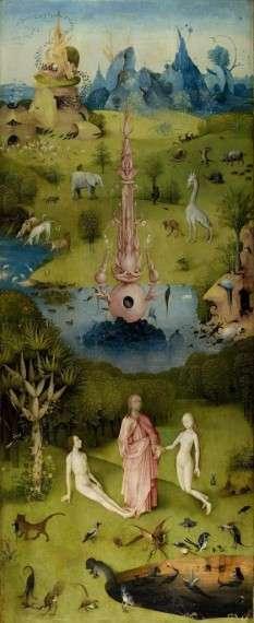 Ο Ιερώνυμος Μπος (Hieronymus van Aken, περ. 1450 - 9 Αυγούστου 1516) Ο κήπος των επίγειων απολαύσεων - Παράδεισος