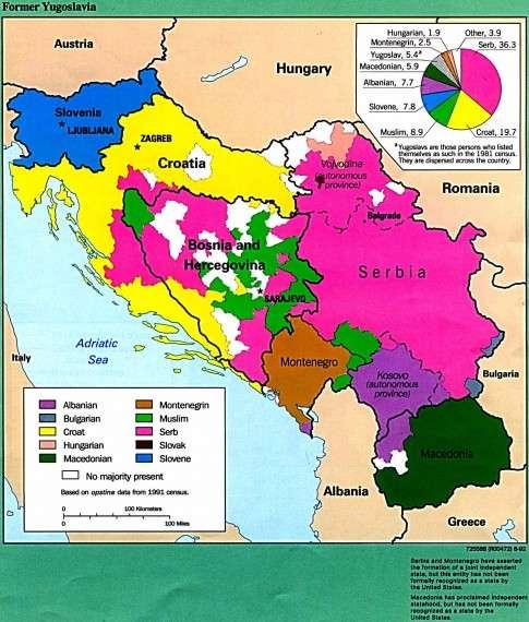 Εθνικές ομάδες της Γιουγκοσλαβίας το 1992