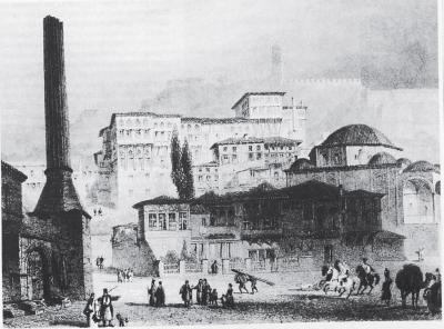 Το Ναύπλιο γύρω στα 1830, το σεράι