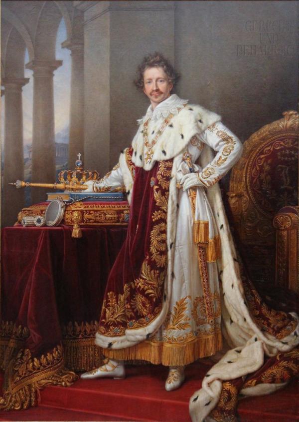 Ο πατέρας του Όθωνα, Λουδοβίκος Α΄ της Βαυαρίας (γερμανικά: Ludwig I, 25 Αυγούστου 1786, Στρασβούργο – 29 Φεβρουαρίου 1868, Νίκαια).Ήταν βασιλιάς της Βαυαρίας από 1825 μέχρι τις επαναστάσεις του 1848 στα γερμανικά κράτη