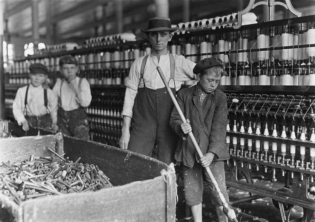 Παιδιά που δουλέυουν σε εργοστάσιο, 19ος αιώνας