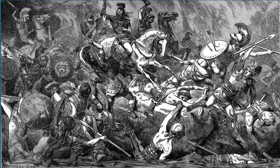 Ο Αλκιβιάδης, πολιτικός με πολλές ικανότητες και υπέρμετρες φιλοδοξίες, χρησιμοποιώντας ως πρόφαση τον πόλεμο δυο σικελικών πόλεων, της Έγεστας και του Σελινούντα, έπεισε την Εκκλησία του Δήμου, παρά τις αντιρρήσεις του Νικία, να οργανώσει μεγάλη εκστρατεία στη Σικελία με το πρόσχημα της αποστολής βοήθειας προς τους Εγεσταίους, φίλους της Αθήνας. Η Εκκλησία όρισε, ως αρχηγούς της εκστρατείας, τρεις στρατηγούς δίνοντάς τους πλήρεις εξουσίες (στρατηγούς αυτοκράτορες): τον Αλκιβιάδη, που ήταν ο εμπνευστής της εκστρατείας, τον Νικία και τον Λάμαχο.