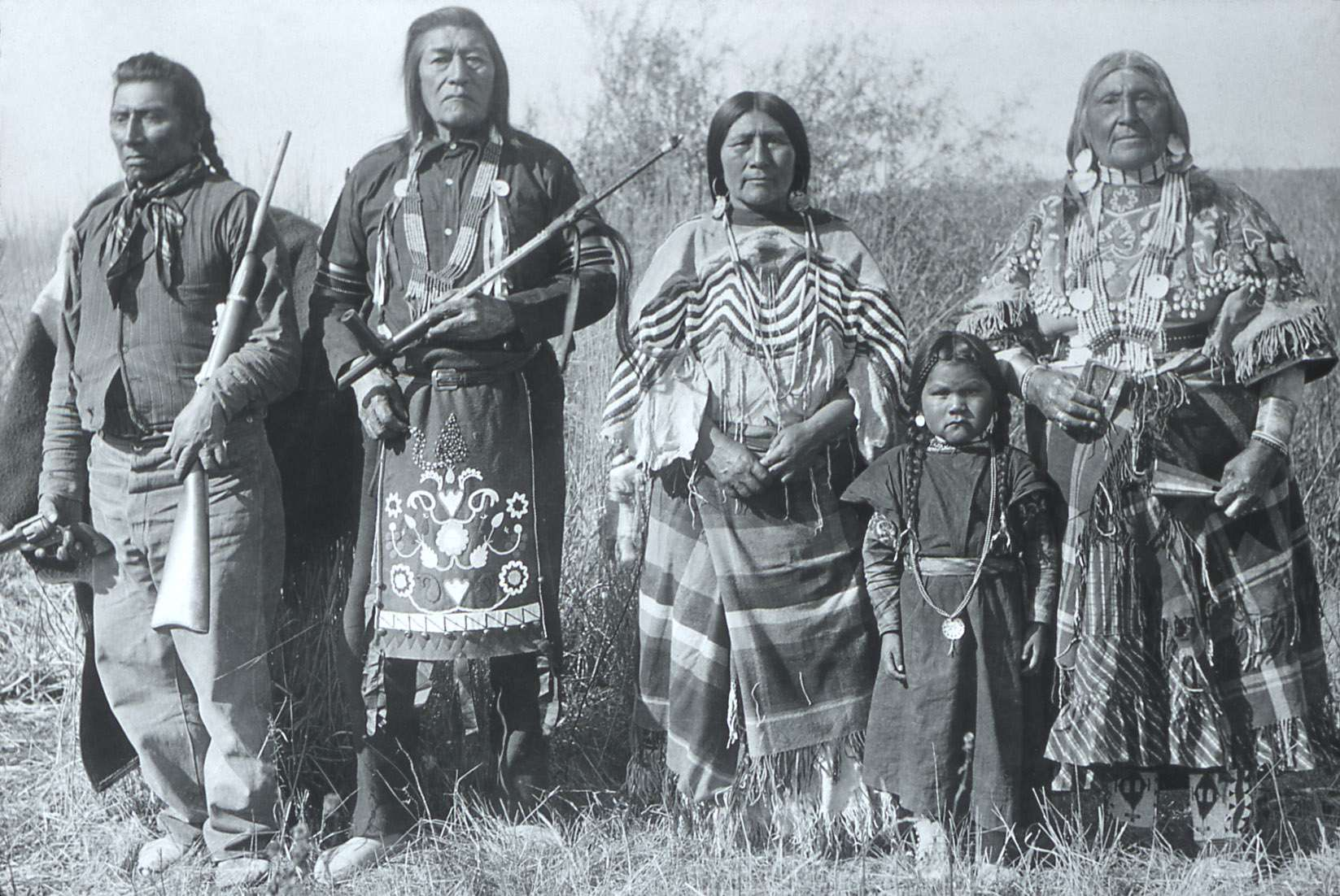 Bannock Indians; Photographer unknown; No date; History - Indians