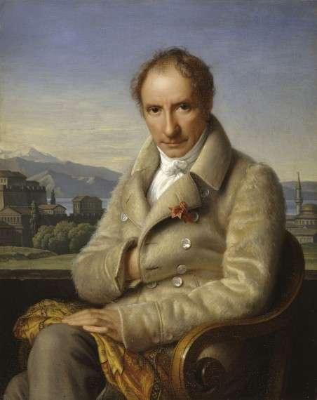 Ο Φρανσουά - Σαρλ – Υγκ – Λοράν Πουκεβίλ (1770 -1838) Portrait of François Pouqueville, Henriette Lorimier (1775-1854)