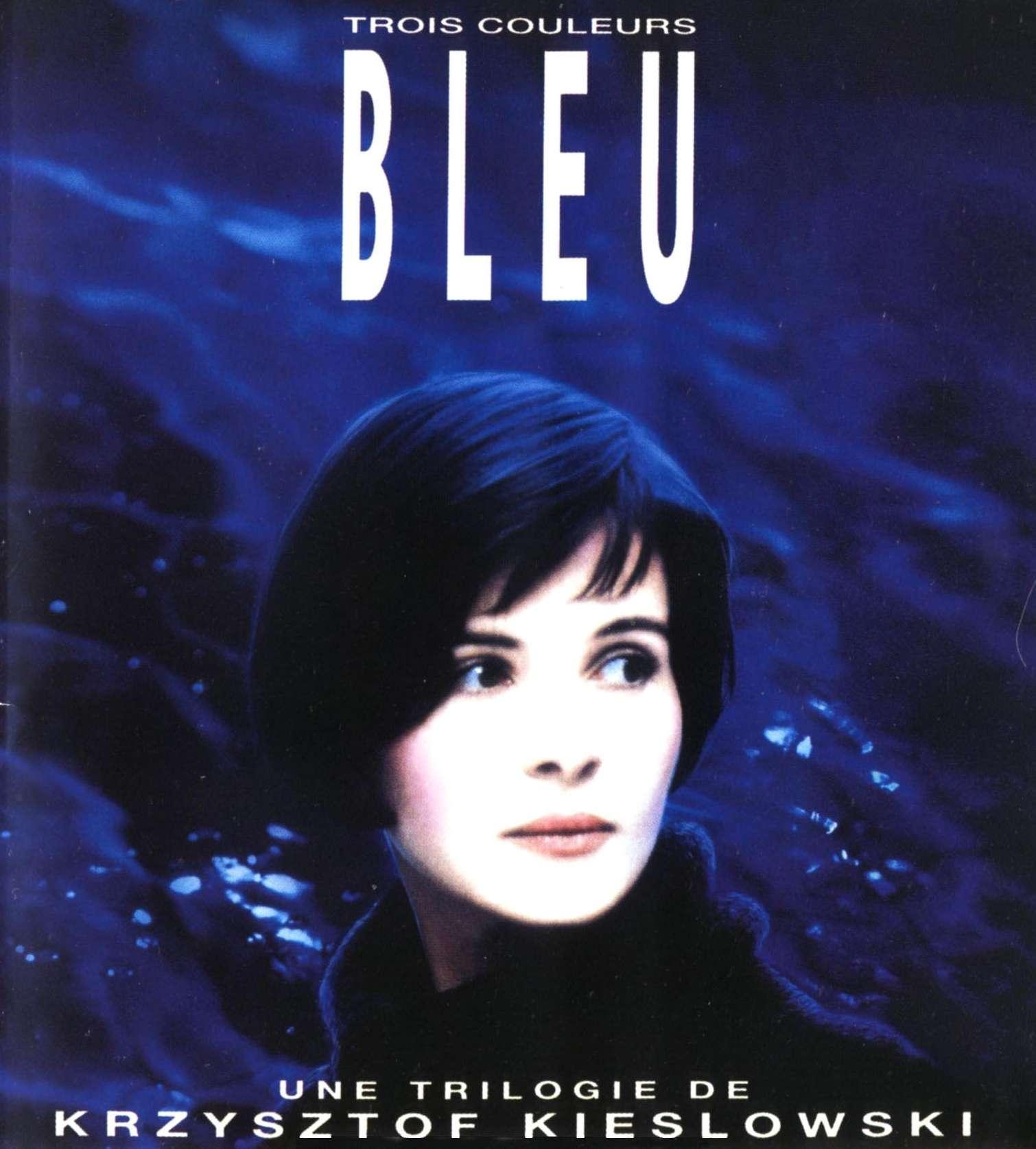 Αφίσα της ταινίας Blue (1993) του Krzysztof Kieslowski