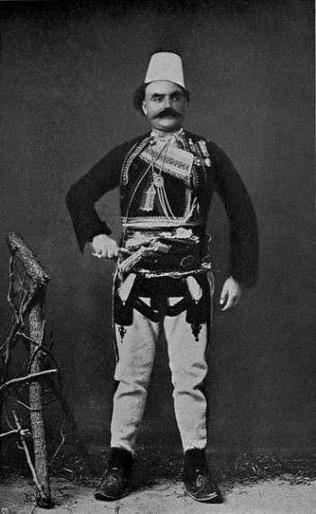Αρχηγός της φυλής των Σκρέλι (Skreli)  1906