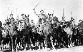 Kirk Douglas as Spartacus in Spartacus (1960)