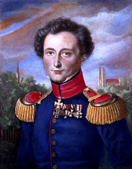 Ο Καρλ Φίλιππ Γκότλιμπ φον Κλάουζεβιτς (γερμ. Carl Philipp Gottlieb von Clausewitz (1 Ιουλίου 1780 - 16 Νοεμβρίου 1831) υπήρξε Πρώσος στρατιωτικός και συγγραφέας περί της θεωρίας και πρακτικής του πολέμου. Πίνακας του Καρλ Βίλχελμ Βαχ