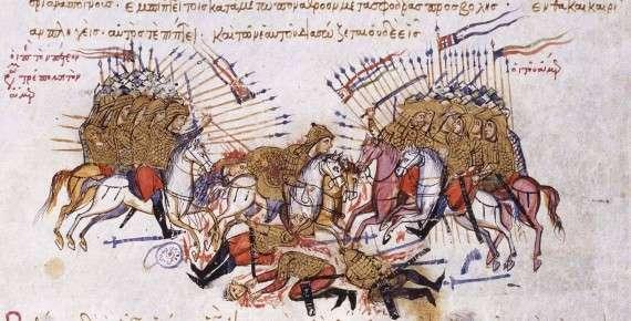Οι Γκέμπροι Βαρδαριώτες εγκαταστάθηκαν στη Μακεδονία ήδη από τον 8ο μ. Χ. αιώνα. Η εγκατάσταση των Βαρδαριωτών στις όχθες του Αξιού, από τους οποίους πήρε και το όνομά του ο ποταμός που λέγεται σήμερα Μπαρντάρ ή Βαρδάρης, φαίνεται ότι χρονολογείται την εποχή της βασιλείας του αυτοκράτορα Θεόφιλου (829-842). Δεκατέσσερις χιλιάδες Πέρσες, σύμφωνα με το Λέοντα το Γραμματικό, ή τριάντα χιλιάδες, σύμφωνα με το Ζωναρά, εγκατέλειψαν την πατρίδα τους για να γλιτώσουν από τους Μωαμεθανούς.(Pouqueville, τόμ. ΙΙΙ, σσ.74-76)