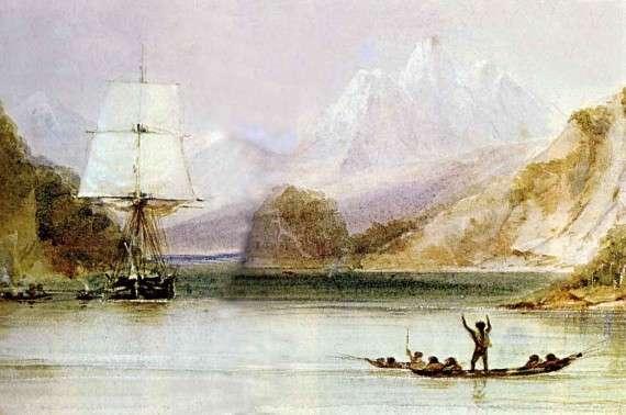 Καθώς το HMS Beagle επισκοπούσε τις άγριες ακτές της Νότιας Αμερικής, ο Δαρβίνος άρχισε να φτιάχνει θεωρίες για τα θαύματα της φύσης γύρω του.
