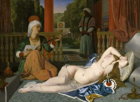Odalisque with a Slave, J.-A.-D. Ingres