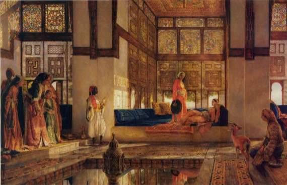 The Reception, John Frederick Lewis, 1805-1875, English