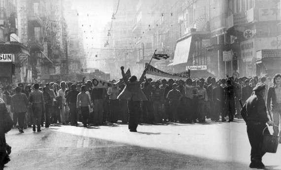 Η εξέγερση του Πολυτεχνείου το 1973 ήταν μια μαζική διαδήλωση λαϊκής αντίθεσης στο καθεστώς της Χούντας των Συνταγματαρχών. Η εξέγερση ξεκίνησε στις 14 Νοεμβρίου 1973, με κατάληψη του Μετσόβιου Πολυτεχνείου Αθηνών από φοιτητές και σπουδαστές που κλιμακώθηκε σχεδόν σε αντιχουντική επανάσταση και έληξε με αιματοχυσία το πρωί της 17ης Νοεμβρίου, μετά από μια σειρά γεγονότων που ξεκίνησαν με την είσοδο άρματος μάχης στον χώρο του Πολυτεχνείου και την επαναφορά σε ισχύ του σχετικού στρατιωτικού νόμου που απαγόρευε συγκεντρώσεις και την κυκλοφορία σε Αθήνα και Θεσσαλονίκη.