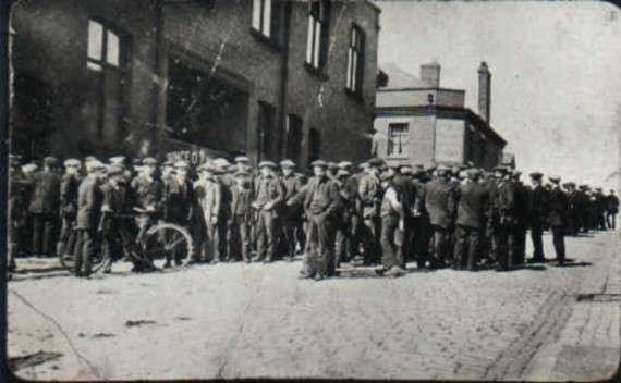 Ανθρακωρύχοι, Ισπανία, Γενική Απεργία, 1926