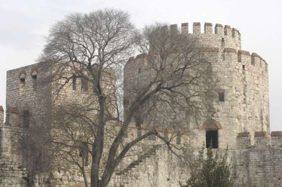 Το Γεντί Κουλέ (Επταπύργιο) στην Κωνσταντινούπολη, 2006
