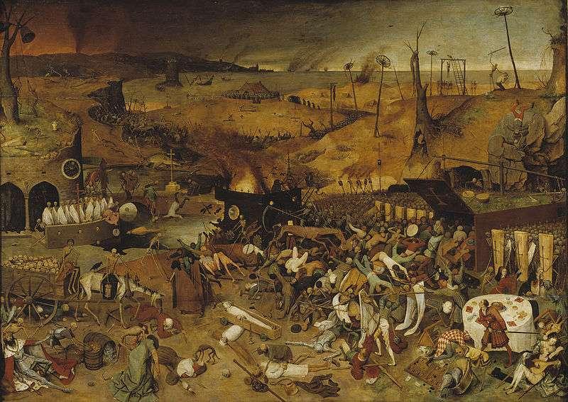 Pieter Brueghel the Elder, 1562. Ο θρίαμβος του θανάτου.