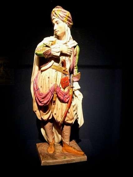 Αγαλματίδιο Αλβανού πολεμιστή του 18ου αιώνα