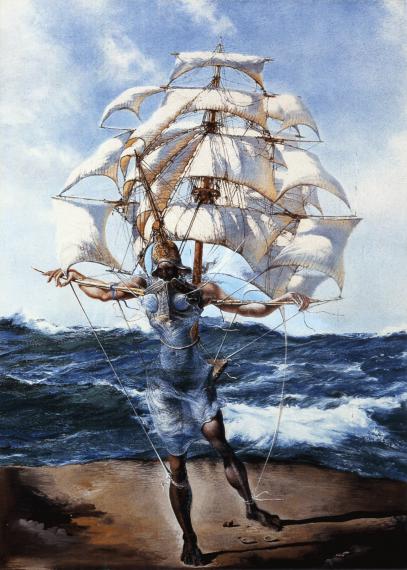 The Ship By: Salvador Dalí