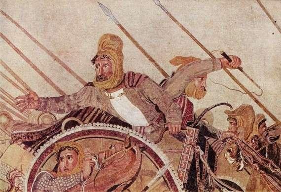 Ο Δαρείος στη μάχη της Ισσού.