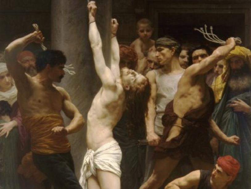 Η Φραγγέλωση του Ιησού Χριστού, του William-Adolphe Bouguereau (1880)