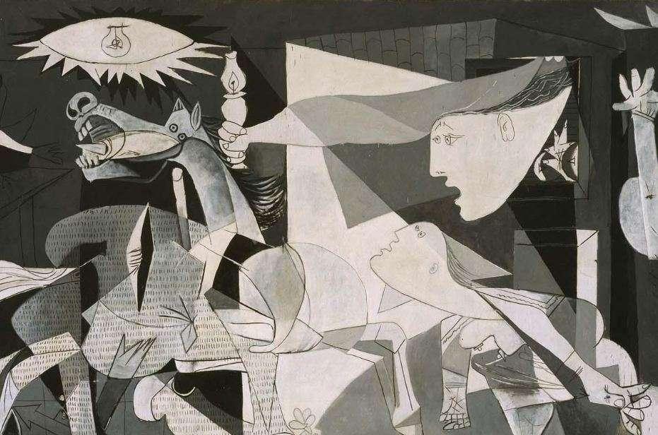Η Γκερνίκα (Guernica στα ισπανικά ή Γκουέρνικα, με λατινική απόδοση στα ελληνικά), είναι το διασημότερο ίσως έργο του Πάμπλο Πικάσο.