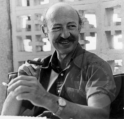 Novelist Howard Fast