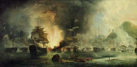 Η ναυμαχία στο Ναυαρίνο (επίσης Ναβαρίνο) έγινε στις 20 Οκτωβρίου του 1827, κατά τη διάρκεια της ελληνικής επανάστασης (1821-1832) στον κόλπο Ναυαρίνο, στη δυτική ακτή της χερσονήσου της Πελοποννήσου στο Ιόνιο Πέλαγος.
