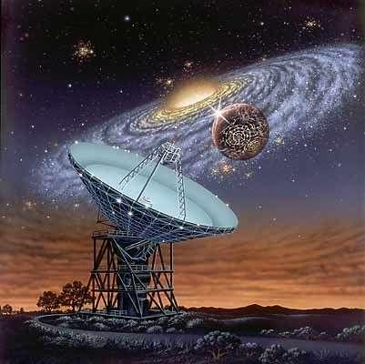 Το πολλά υποσχόμενο SETI (SearchforExtraterrestrialIntelligence) συνδέει μεταξύ τους εκατοντάδες ραδιοτηλεσκόπια ανά τον κόσμο διευρύνοντας τις πιθανότητες επαφής. Ένα πρόγραμμα με ζωή όχι μεγαλύτερη των 40 χρόνων...