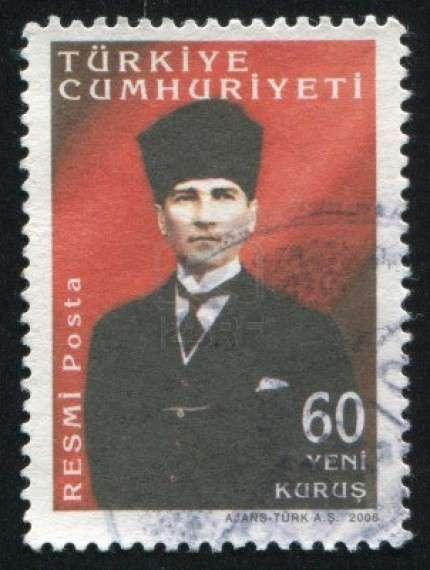 Ο Μουσταφά Κεμάλ Ατατούρκ (Θεσσαλονίκη 19 Μαΐου 1881 - Κωνσταντινούπολη 10 Νοεμβρίου 1938) ήταν Τούρκος στρατιωτικός και πολιτικός. Ήταν ιδρυτής και πρώτος πρόεδρος της Τουρκικής Δημοκρατίας. Ουσιαστικά ανέλαβε πραξικοπηματικά μια διαμελισμένη Οθωμανική αυτοκρατορία, της οποίας το εναπομείναν υπόλοιπο των εδαφών στην Ανατολία, κατόρθωσε να το μετατρέψει σε κράτος δυτικού προτύπου ονομάζοντάς το Τουρκία.