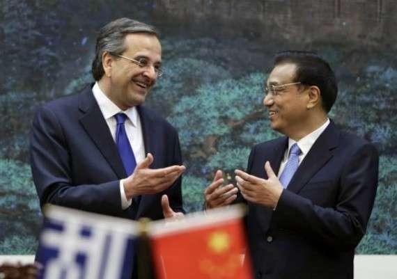 Με τον κινέζο πρωθυπουργό Λι Κετσιάνγκ συναντήθηκε στο Πεκίνο ο Αντώνης Σαμαράς