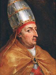 ο Λεονάρδος καταλήγει με εκκλήσεις στον Πάπα να αναλάβει σταυροφορία για να εκδικηθεί τις συμφορές των χριστιανών, επειδή οι εχθροί έχουν φτάσει στο σημείο να κομπάζουν ότι θα περάσουν και την Αδριατική και θα επιτεθούν στην ίδια τη Ρώμη. Πάπας Νικόλαος Ε΄