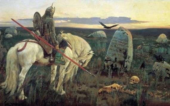 Ο Όσβαλντ Σπένγκλερ δεν αποκρύπτει τις προτιμήσεις του όταν υποδεικνύει ότι δυό μόνο είναι οι αληθινές τάξεις, δηλαδή, κατά τον ίδιο, η τάξη των Ιπποτών και η τάξη των Ιερέων, χωρίς να καταλήγει σε πιά ίσως τάξη θα επιθυμούσε να ανήκει ο... ίδιος! Painting by Edmund Blair Leighton English Pre-Raphaelite Painter