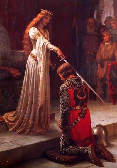 """""""Στο εξής ιδιοκτησία (και λαφυραγωγία) σημαίνει πλούτος και η κοσμοθεωρία ταυτίζεται πλέον με τη γνώση: το πεπρωμένο δεν είναι πλέον ιερό και η αιτιότητα είναι βέβηλη"""" Painting by Edmund Blair Leighton English Pre-Raphaelite Painter"""
