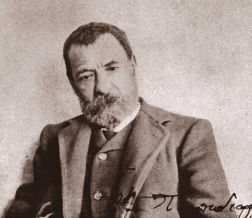 Ο Αλέξανδρος Παπαδιαμάντης (Σκιάθος 4 Μαρτίου 1851 - Σκιάθος 3 Ιανουαρίου 1911)