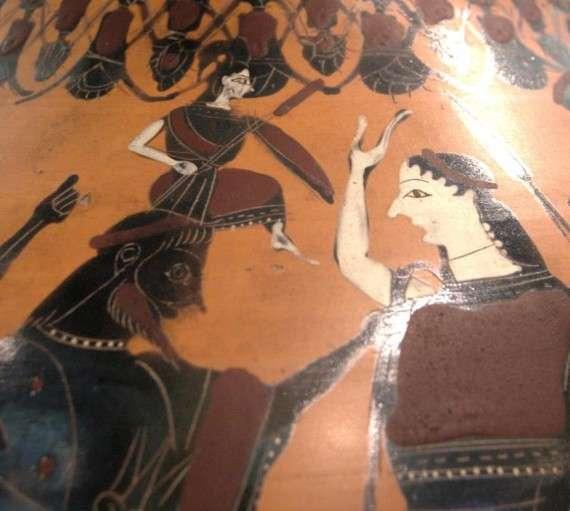 Η γέννηση της Αθηνάς. Λούβρο
