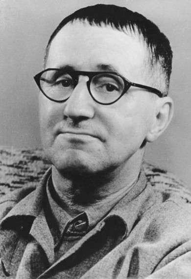 Πορτραίτο του Μπέρτολτ Μπρεχτ το 1948.