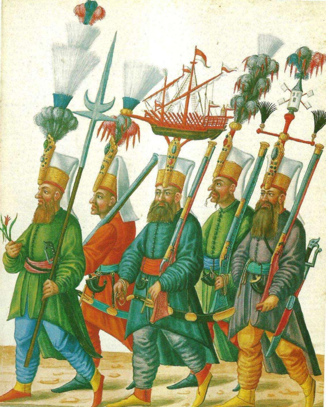 Οι Γενίτσαροι, ή γιανίσαροι (ΔΦΑ: jăn'isâr, Οθωμαν. Τουρκ. يڭيچرى, γενίσερι, «νέος στρατιώτης»), ήταν επίλεκτα σώματα της οθωμανικής αυτοκρατορίας. Αρχικά συγκροτούνταν από αιχμαλώτους πολέμου και παιδιά χριστιανικών οικογενειών που εξαναγκάζονταν από μικρή ηλικία σε στρατιωτική υπηρεσία.
