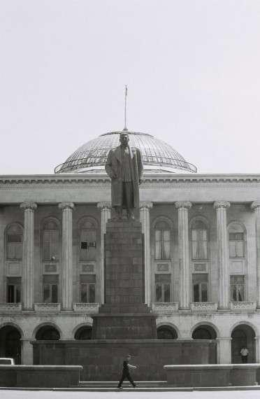 Γκόρι - Γεωργία. Το μοναδικό άγαλμα του Στάλιν, που παρέμεινε στην ΕΣΣΔ μετά την αποσταλινοποίηση.