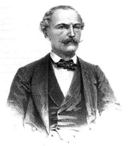 Ξυλογραφία του Ιωάννη Φιλήμονα από το περιοδικό Εθνικόν Ημερολόγιον Βρετού του 1863