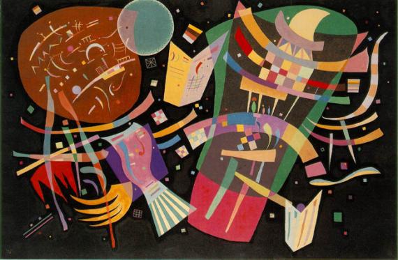 Βασίλι Καντίνσκι, Composition X (1939)