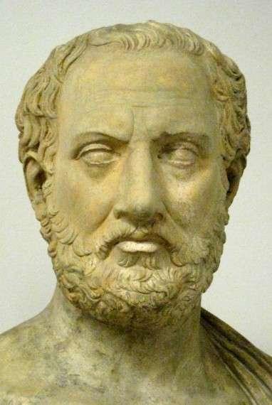 Ο Θουκυδίδης (περίπου 460 -398 π.Χ.) ήταν αρχαίος Έλληνας στρατηγός και ιστορικός