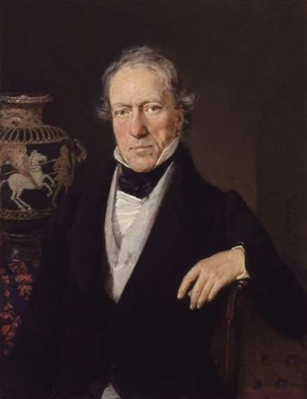 Μάρτιν Γουϊλιαμ Ληκ, William Martin Leake, by Christian Albrecht Jensen
