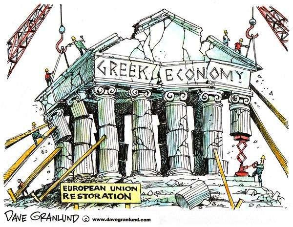 """Οι ευρύτατες συζητήσεις για """"Grexit"""" (σημ. """"Ελλαδική έξοδος"""") στις αγορές και μάλιστα ακόμα κι΄ ανάμεσα στους πιστωτές ήταν ιδιαίτερα ζημιογόνες για την Ελλάδα..."""