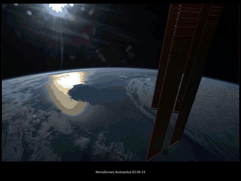 Δείτε τις μοναδικές φωτογραφίες από το …διάστημα!: (commander hadfield's iss photos 2013)