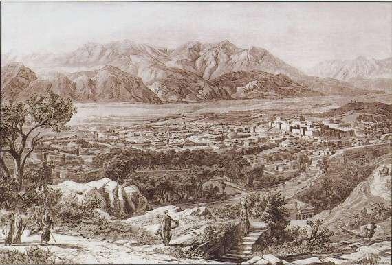 Η αρχαία Σπάρτη στην κοιλάδα του ποταμού Ευρώτα