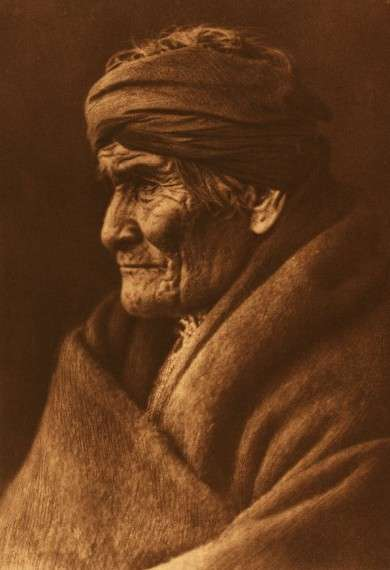 Edward S. Curtis, Portrait of Geronimo, 1905