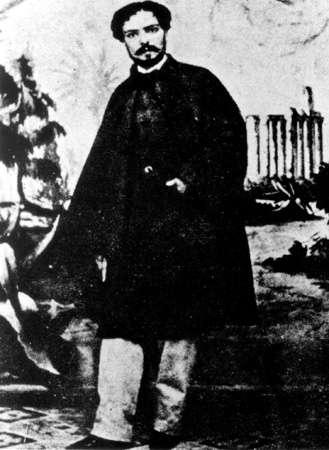 Ο Εμμανουήλ Ροΐδης (28 Ιουλίου 1836 – 7 Ιανουαρίου 1904)