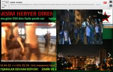 Δείτε ζωντανά τις εξελίξεις και τα επεισόδια στην Τουρκία!
