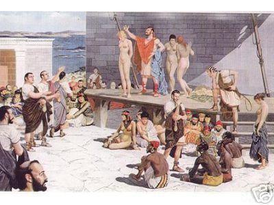 Δουλεμπόριο και δημοκρατία στην αρχαία Αθήνα δεν ήταν ασυμβίβαστα.